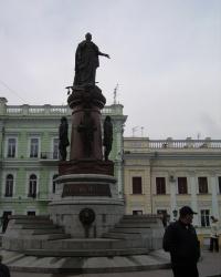 Памятник основательнице Одессы Екатерине II