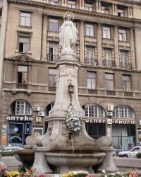 Статуя Пречистой Девы Марии в г.Львове