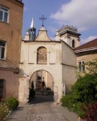 Костёл и монастырь бенедиктинок