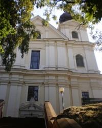 Костёл кармелитов босых (костёл Святого Архистратига Михаила) в г.Львове
