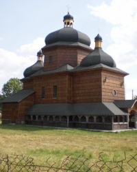Дерев`яна церква СВ. МИКОЛИ