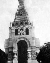 Часовня Святого Николая 1896г