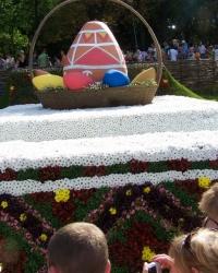 Выставка цветов на Певчем Поле