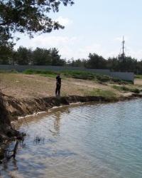 Голубое озеро или Елизаветовский котлован