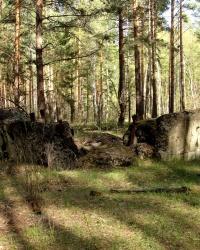 ДОТ 562. Вузол оборони Гута-Межигірська КУР