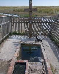 Родник и купальня возле с. Райновки