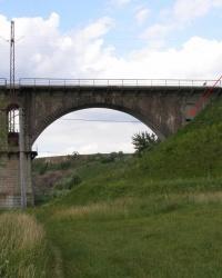 ДОТ в опоре железнодорожного моста