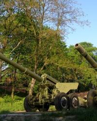 Музей военной техники в г. Коростень