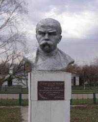 Бюст Т. Г. Шевченко в с. Ягодное