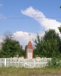 Памятник воинам-односельчанам в с. Острожок