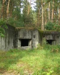 Артиллерийский ДОТ возле с.Острожок