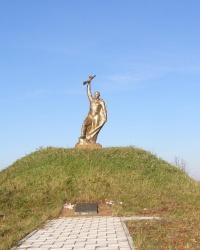 Братская могила воинов в селе Вышковка