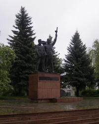Меморіал загиблим городянам в Овручі