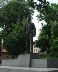 Пам'ятник В'ячеславу Чорноволу в м. Львів