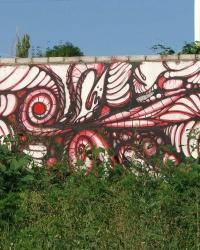 Спрей-арт (граффити) в Днепродзержинске. Фотоквест