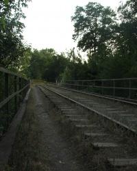 Заброшенный ЖД мостик. Тайник