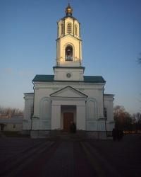 Свято-Успенский храм в городе Миргороде