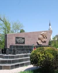 Награда подвигу – бессмертие (Памятник на основном месте высадки евпаторийского десанта 1942 года)