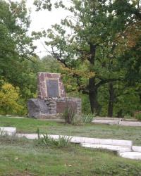 Пам'ятник воїнам  - інтернаціоналістам у смт. Черкаське.