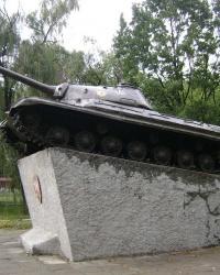 Танк Т10 в пгт. Черкасское