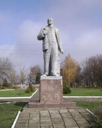Памятник В.И. Ленину в с. Кислянка