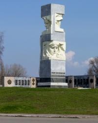 Мемориал воинам в пгт. Кринички