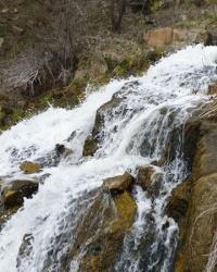 Водопад на реке Каинкулак