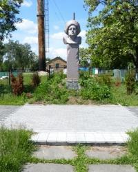 Памятник Атаману Зеленому (Данило Ількович Терпило) в с. Триполье