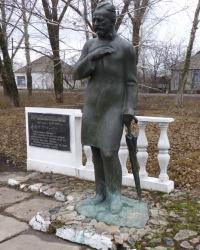 Памятник нашему П. И. Чайковскому в с. Александровка