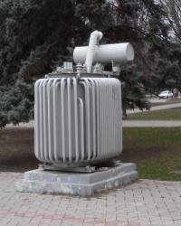 Трансформатор – пам'ятник в Запоріжжі